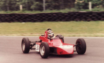 Oulton Park ~ Old Hall Corner, keeping the foot in...