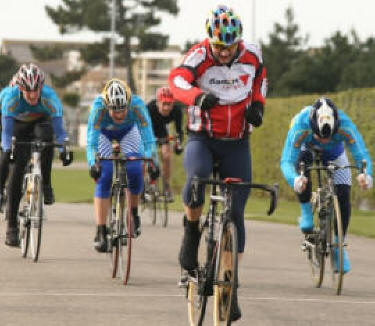 flamme rouge race win